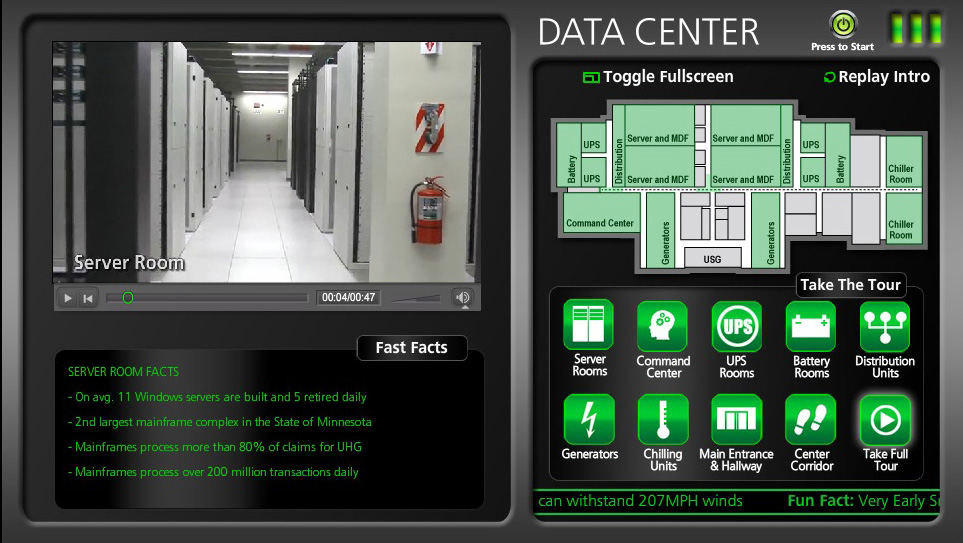 Data Center Virtual Tour
